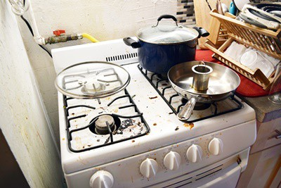 how to remove roaches from appliances